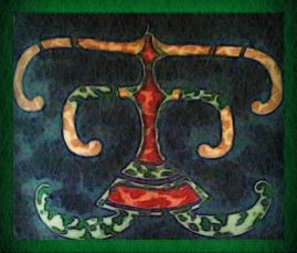 harlequin logo (from the platinum albums)
