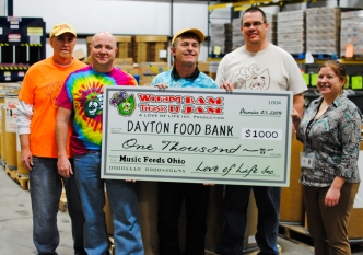 Love of Life and Music Feeds Ohio Donate to The Foodbank