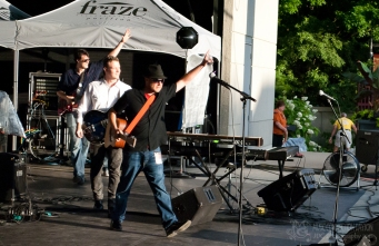 Tony Red Band at the Fraze