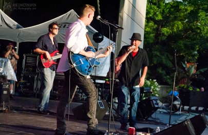 Tony Red Band at the Fraze-150