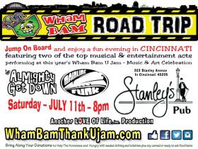 Wham Bam Thank U Jam Road Trip to Stanleys Pub