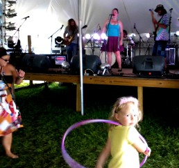 Emily & the Lost Cat Ramblers- 1 - Miami Valley Music Fest 2015