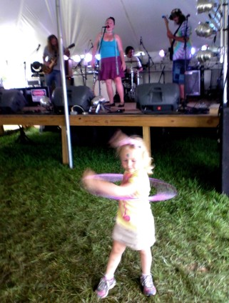 Emily & the Lost Cat Ramblers 3 - Miami Valley Music Fest 2015