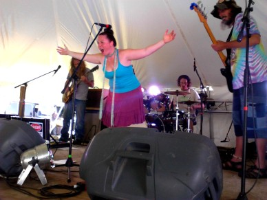 Emily & the Lost Cat Ramblers 4 - Miami Valley Music Fest 2015