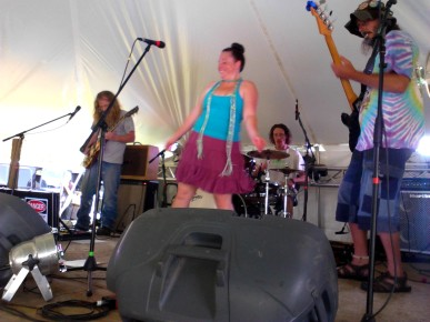 Emily & the Lost Cat Ramblers 5 - Miami Valley Music Fest 2015