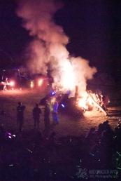 Wham Bam Thank U Jam 2015 - Fire Ceremony-343