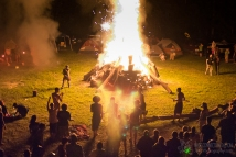 Wham Bam Thank U Jam 2015 - Fire Ceremony-350
