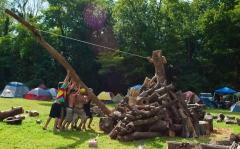 Wham Bam Thank U Jam 2015 - Fire Sculpture-128