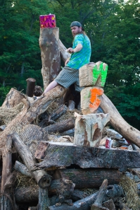 Wham Bam Thank U Jam 2015 - Fire Sculpture-235
