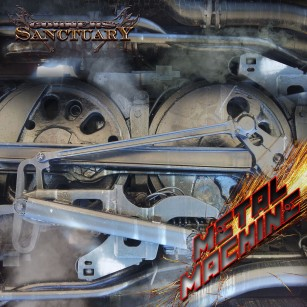 Corners of Sanctuary - Metal Machine CD Cover