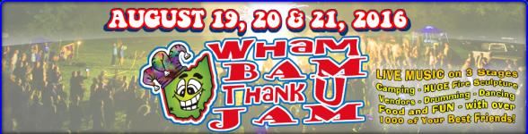 Wham Bam 2016 Banner